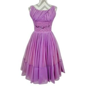 Vintage 1950's Prom Dress Party Swing Cupcake